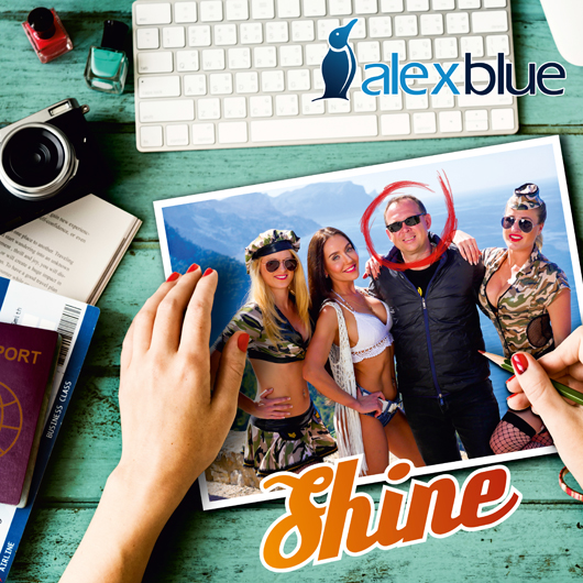 ALEX BLUE-Shine