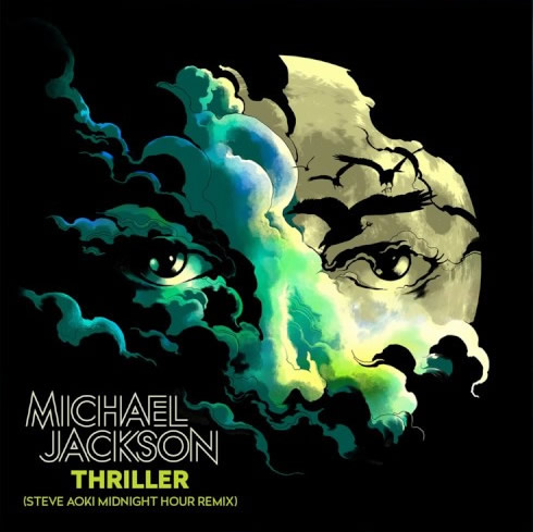 MICHAEL JACKSON-Thriller (Steve Aoki Midnight Hour Remix)