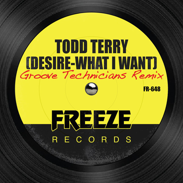 TODD TERRY-Desire (what I Want)