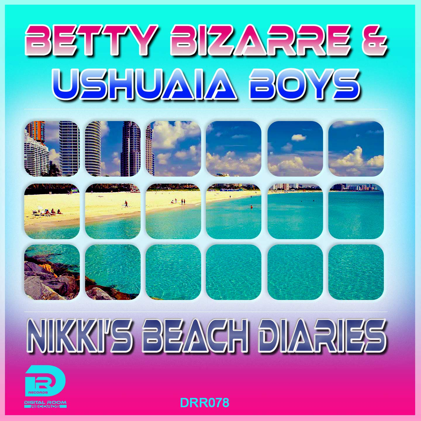 BETTY BIZARRE & USHUAIA BOYS-Nikki´s Beach Diaries