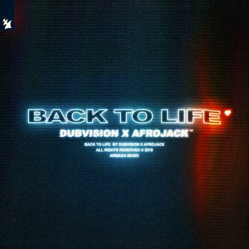 DUBVISION, AFROJACK-Back To Life