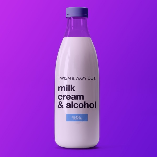 TWISM, WAVY DOT.-Milk, Cream & Alcohol