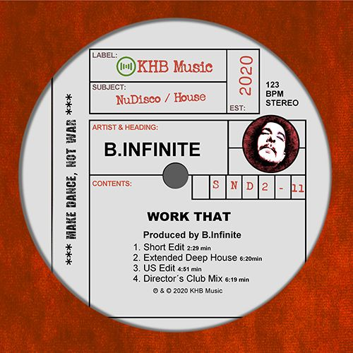 B.INFINITE-Work That (nu Disco